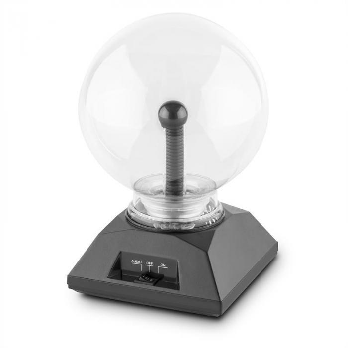 Sfera lampada plasma effetto fulmini vintage retro 20cm