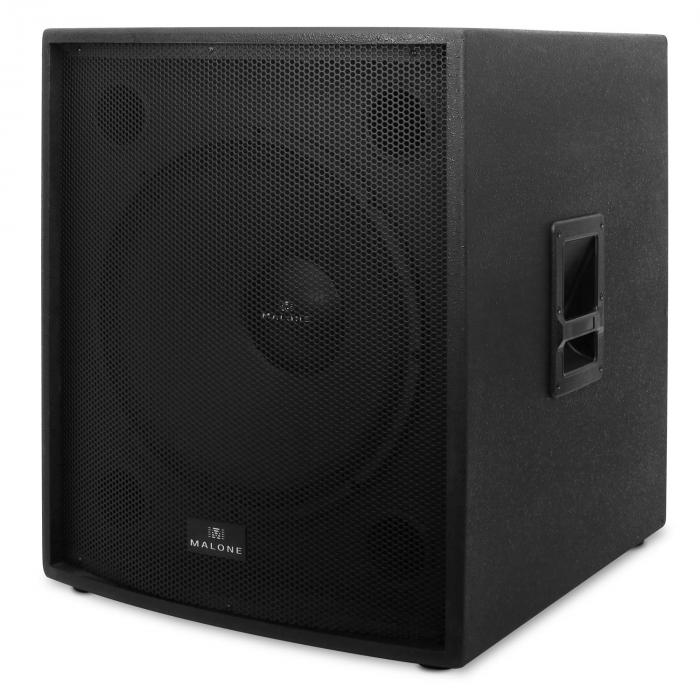 "PW-18A-M Coppia Subwoofer 18"" 5000W"