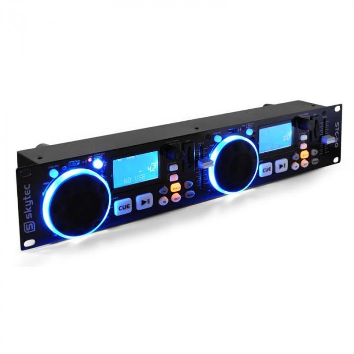 STC-50 Tupla-DJ-MP3-soitin USB SD, skrätsäys
