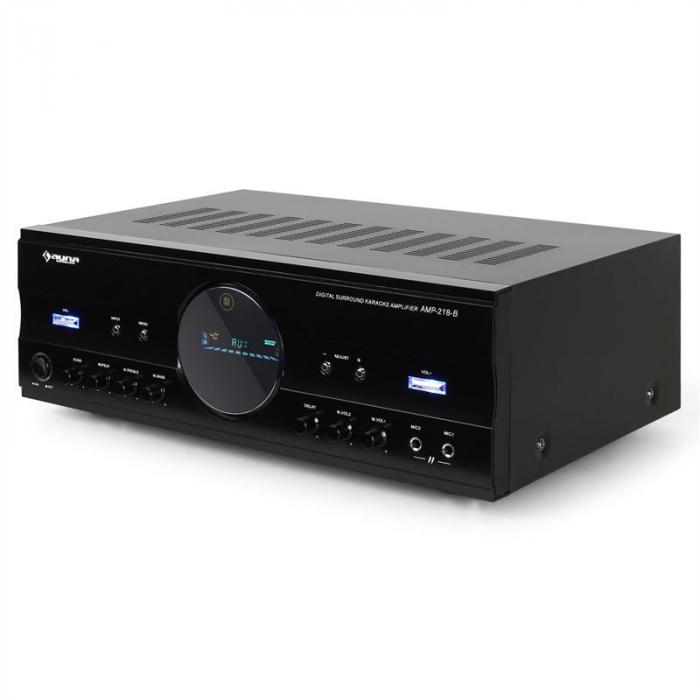 Surround Audio Home Cinema HiFi Amplifier 600W max - Black