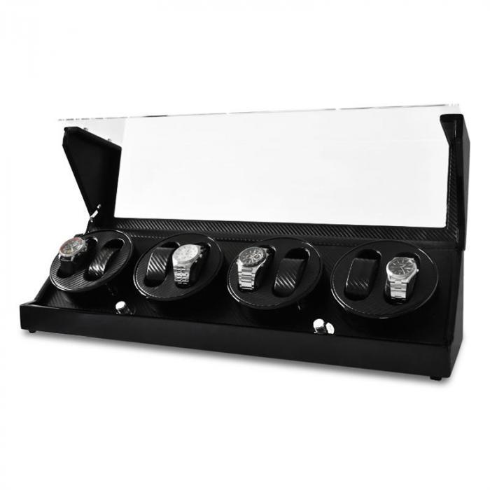 CA4PM Espositore per 8 orologi color carbone