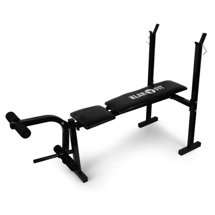 Halterbank trainingsbank beencurler <160kg