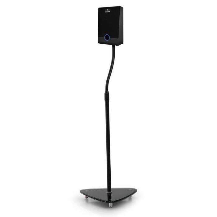 Electronic Star Pareja de soportes Vidrio/ Acero inoxidable