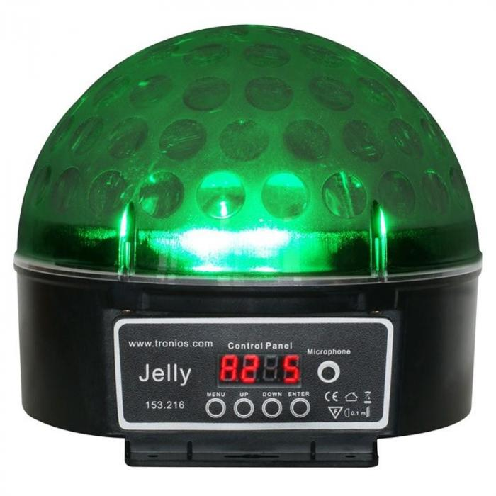 Magic Jelly 2-osainen setti DJ-pallo LED-valoefekti