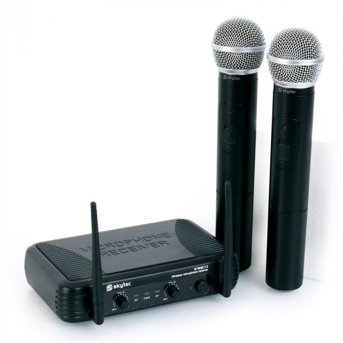 STWM712 VHF Wireless Microphone Set 2 Handheld mics