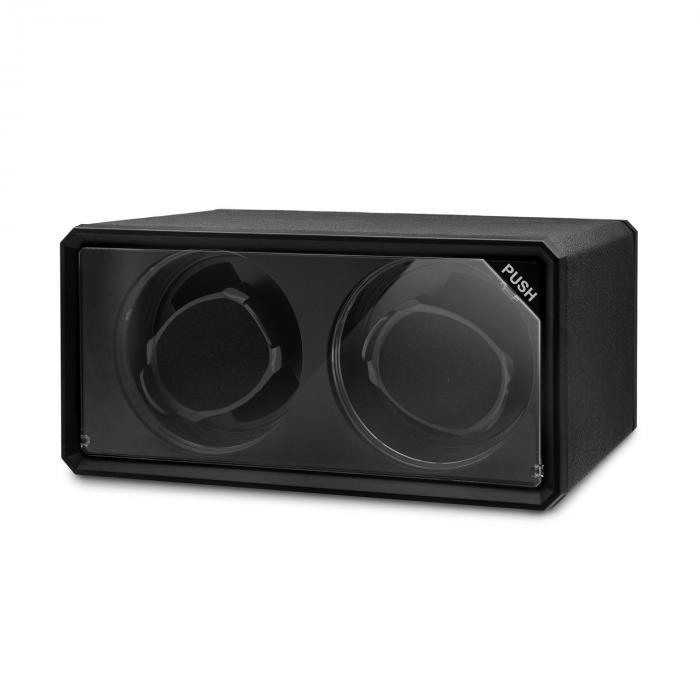 8led2s uhrenbeweger 2 uhren schwarz led effekt online kaufen elektronik star ch. Black Bedroom Furniture Sets. Home Design Ideas