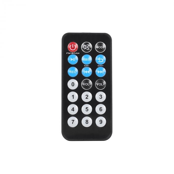 """Port15VHF-BT 15"""":n PA-järjestelmä, USB, SD, mp3, BT"""