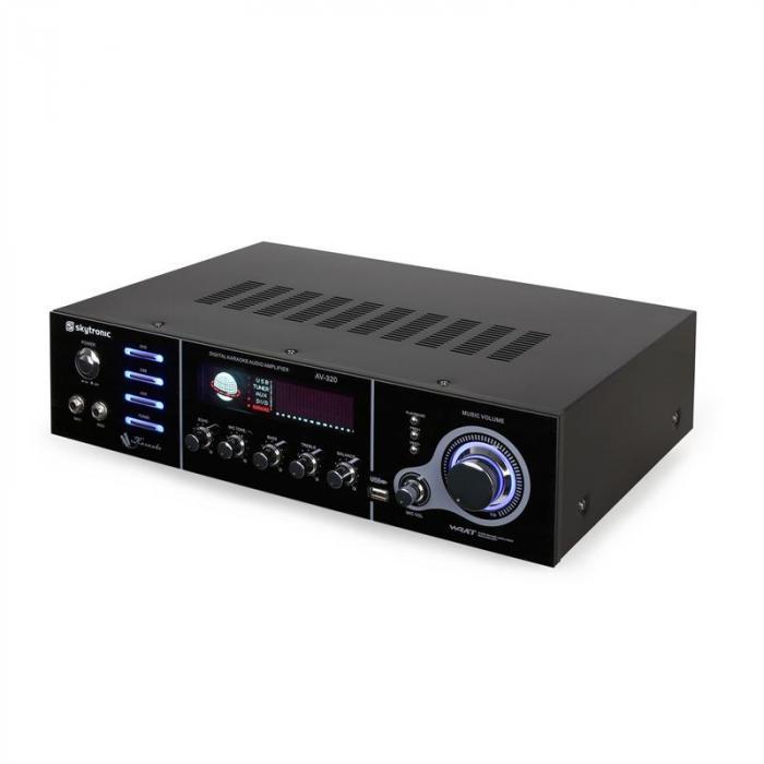 AV-320 5-Kanal PA-Verstärker Karaoke USB MP3