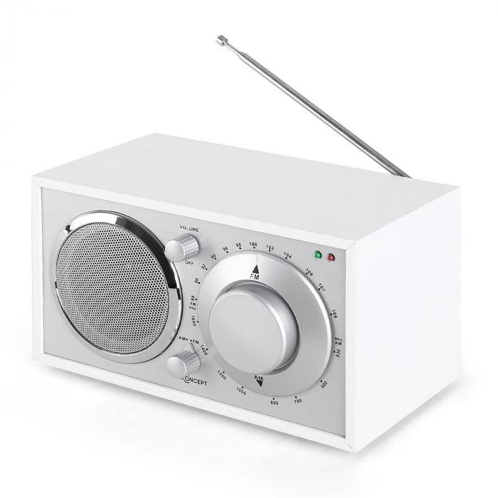 Lausanne Radio vintage bianca FM AUX