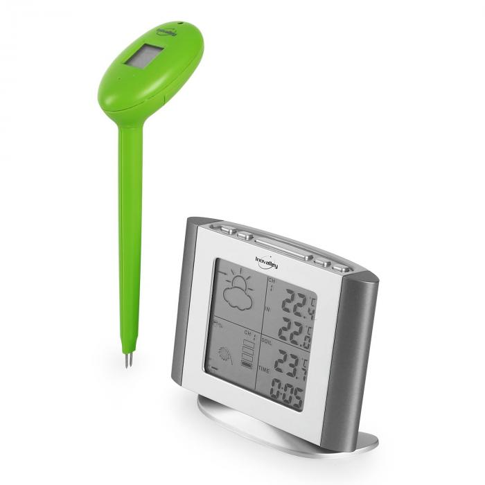 SM 79 Weather Station External Plant Outdoor Sensor Silver