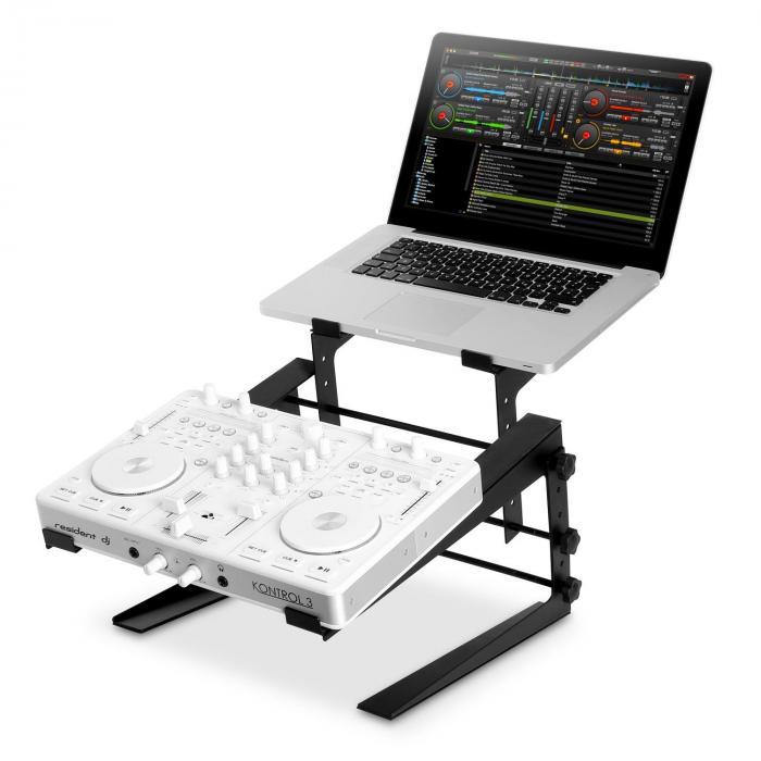 DJX-250 Staander, voet,Laptop Mixer Controller zwart