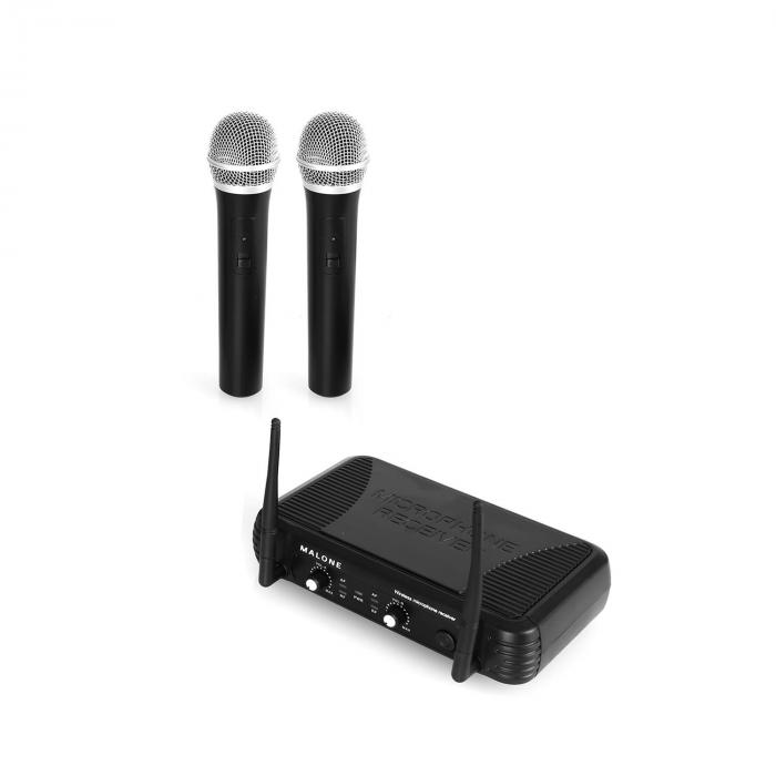 UHF-250 Duo1 2-Kanal UHF-Funkmikrofon-Set