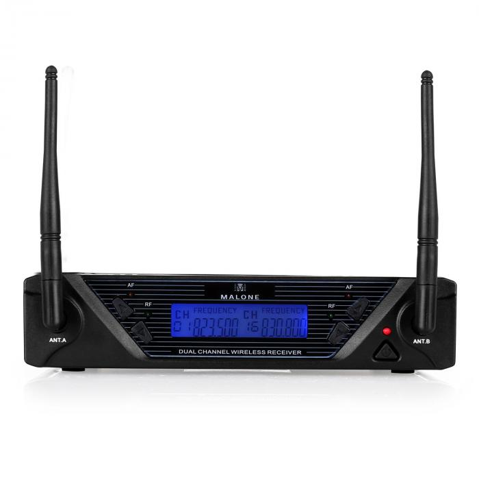 UHF 450 Duo2 UHF Wireless Microphone Set 2-Channel