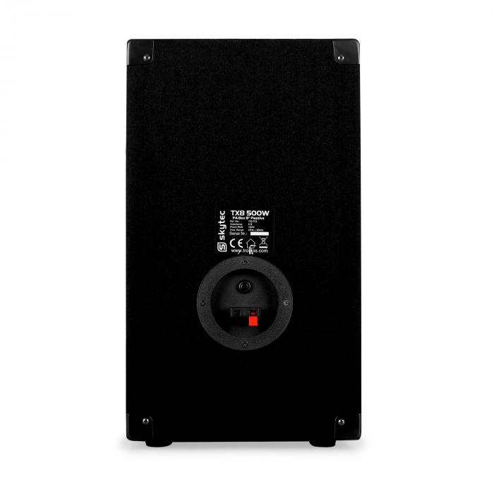 "TX8 Paar 20cm (8"") Passiv-PA-Lautsprecher 100W RMS"