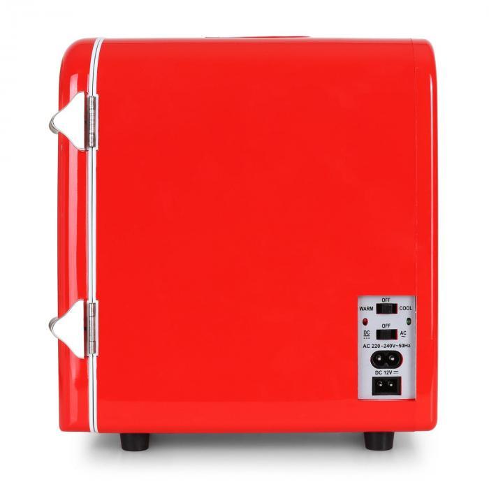 Bella Taverna Mini Frigo Bar Caldo/Freddo 4 Litri Rosso
