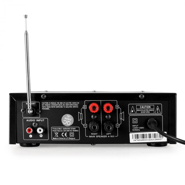 Karaoke-Star 4 All-in-1 karaoke-setti