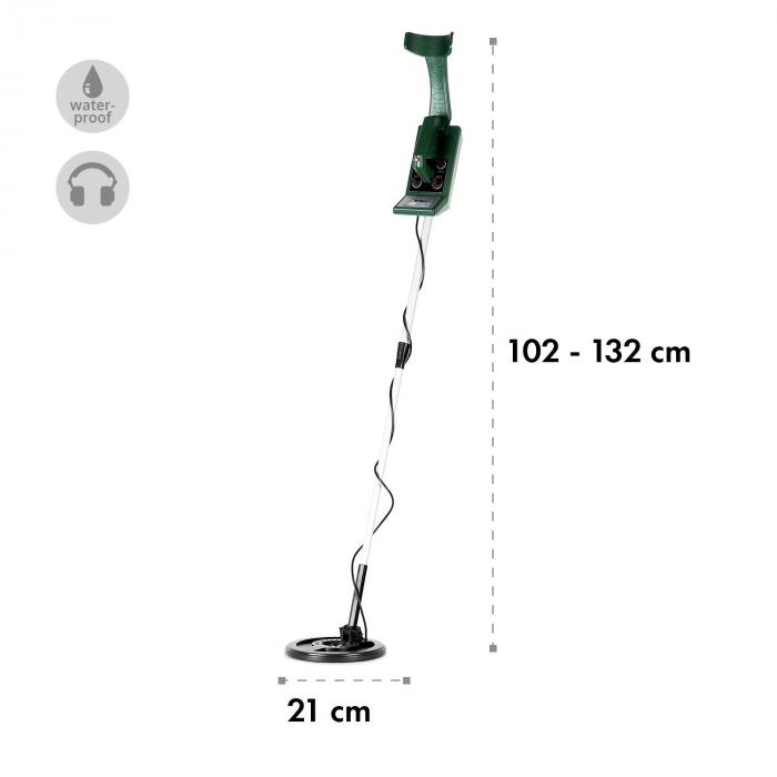Nazca Pro Metal detector impermeabile 4m verde