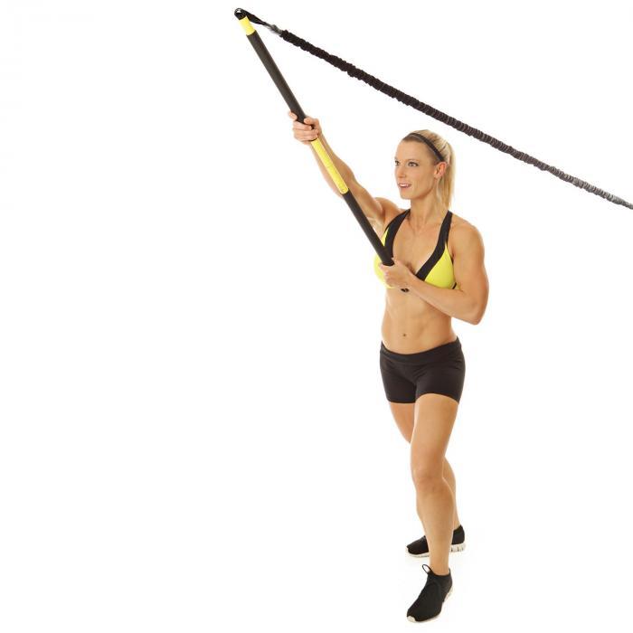 Capital Sport Riprider banda elastica allenamento 9 kg moschettone