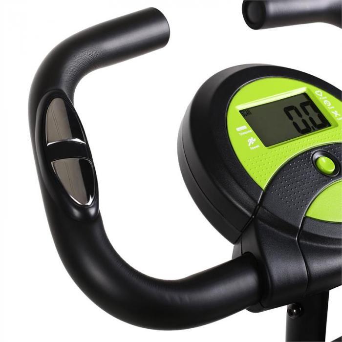 X-Bike 700 Cyclette richiudibile nera e gialla