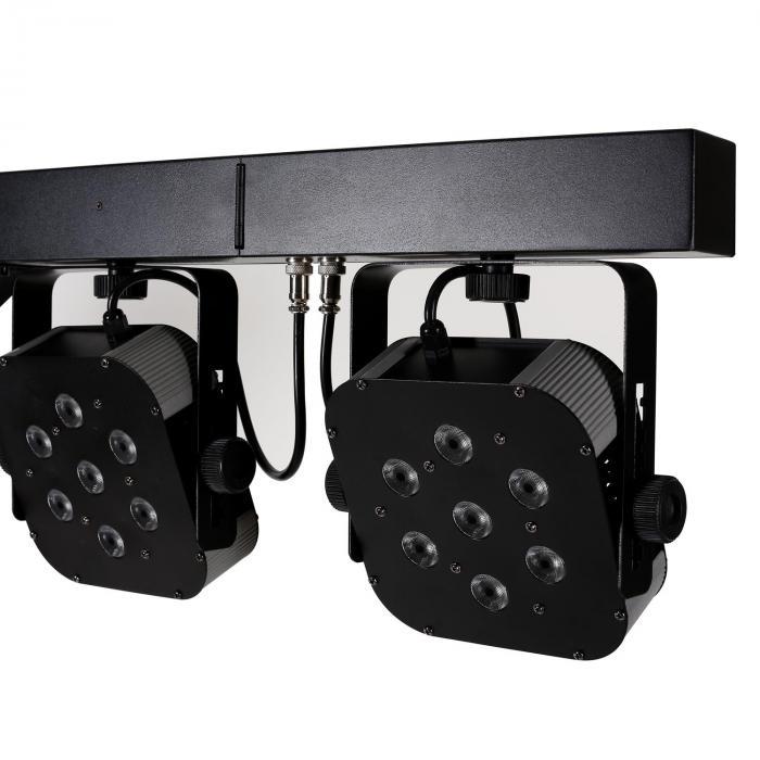 BARRA LED per treppiede 4 Way 7x10W Quad