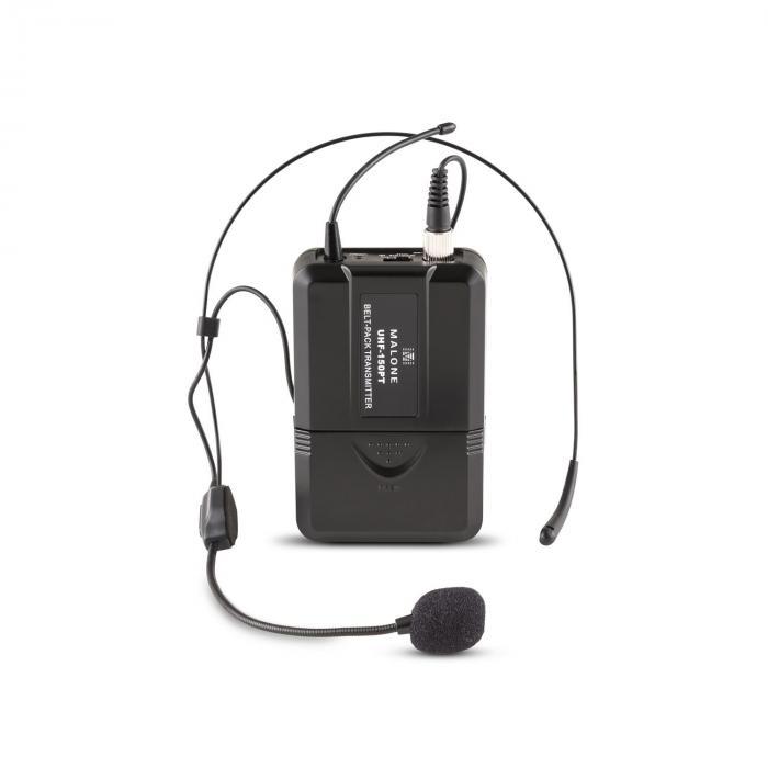 Duett Quartett Fix V3 4-kanavainen UHF-radiomikrofonisetti 50m kantama