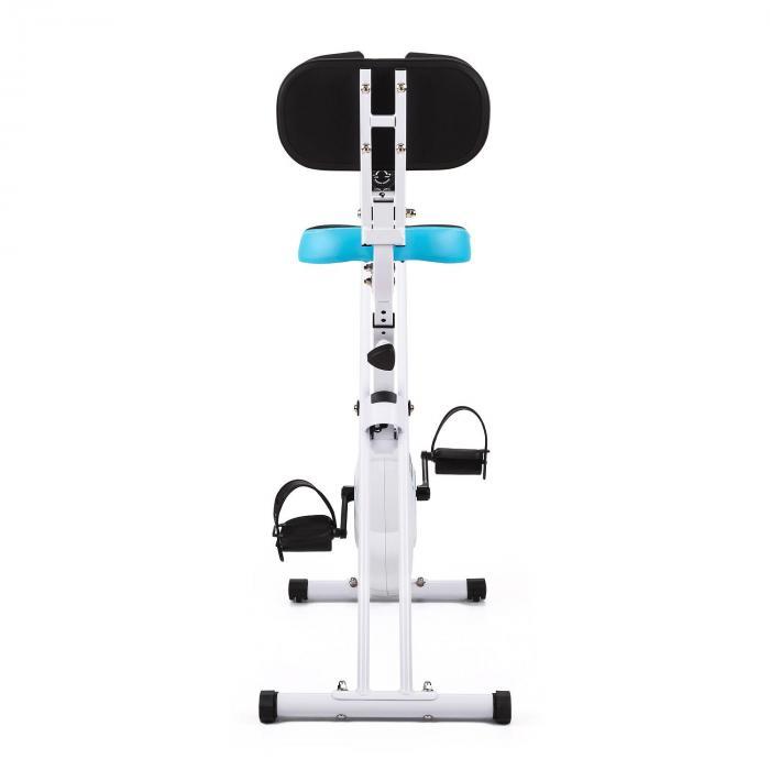 Azura Comfort Exercise Training Bicycle Backrest Foldable 100kg