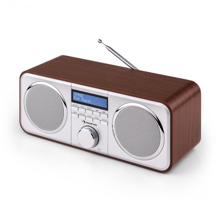 Georgia DAB-Radio DAB+ FM AUX Ciliegio