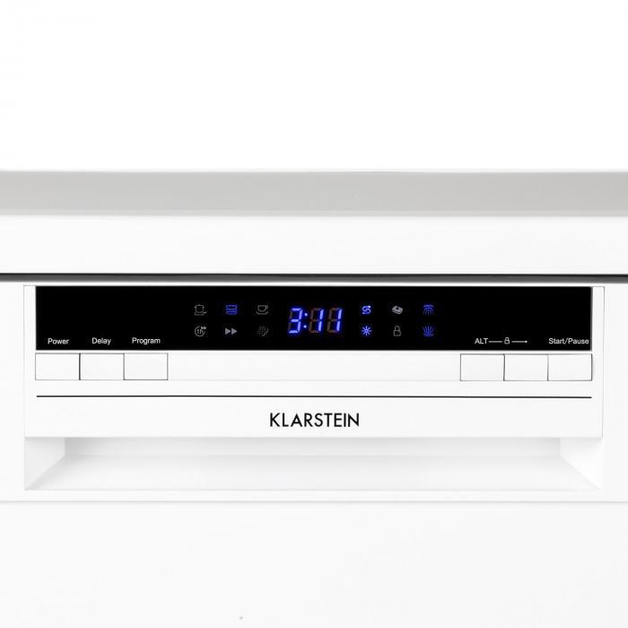 Amazonia 60 Geschirrspülmaschine A++ 1850W 12 Maßgedecke 49 dB weiß