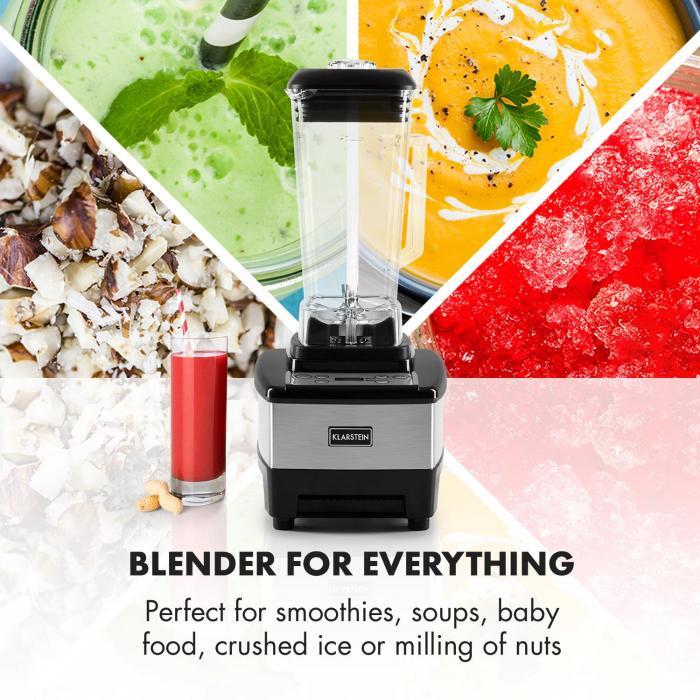 Herakles-4G-B Batidora smoothie 1500W 2 litros sin BPA