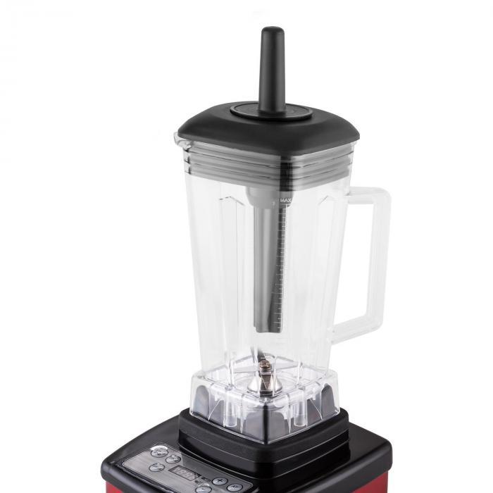 Herakles 4G Frullatore Rosso con Cover senza BPA 2 L 1500 W 2,0 PS