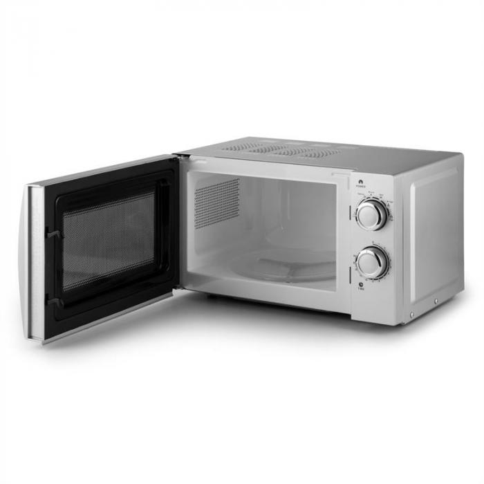 myWave Forno a Microonde 20L 700W Timer Argento