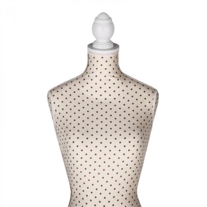 Ivetta II Mannequin de couture styropore hauteur réglable 36/38
