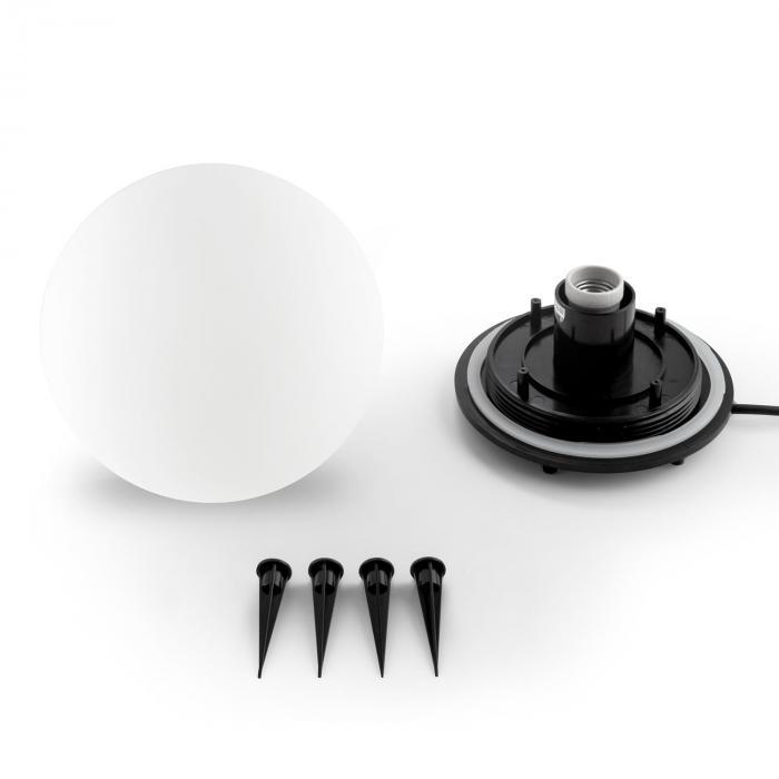 Shineball S Lampada A Sfera da Esterno e Giardino 20 cm Bianca