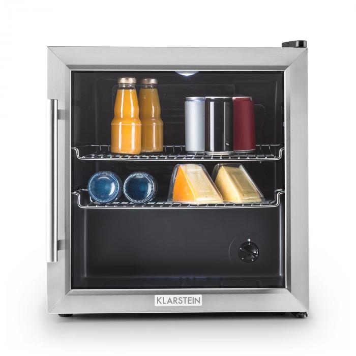 Beersafe L Fridge Refrigerator 50L Class B Glass Door Stainless Steel