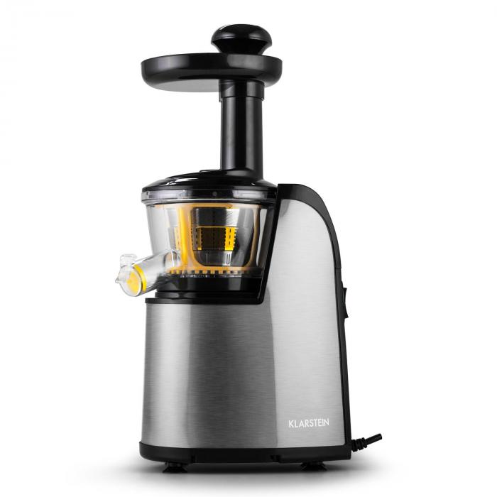 Fruitpresso Nero II Slow Juicer Edelstahl 150W 80 U/min