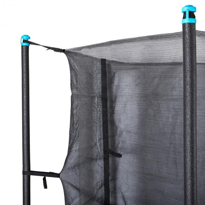 Rocketboy 250 Tappeto Elastico 250cm Rete di Sicurezza Interna Blu