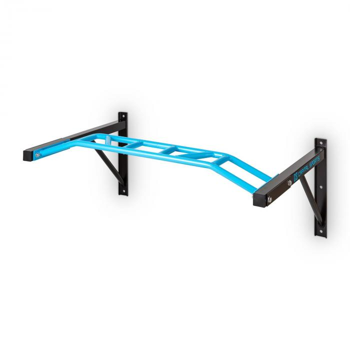 Master Grip Chin Up Bar Multi-Grip Steel Wall Mountable 350kg