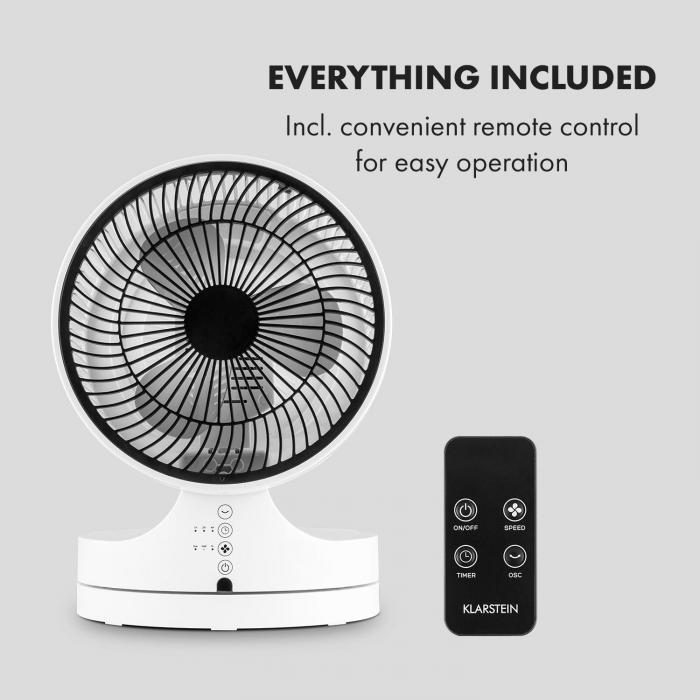 Touchstream WH Floor Stand Fan 45W Touch
