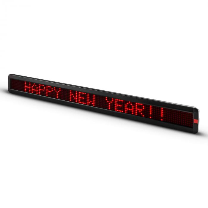 Times Square XXL Scrolling Text Ticker Marquee 840 LED Red 1m Programmable