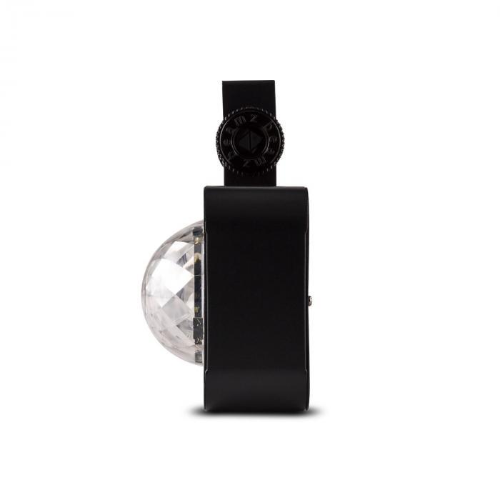 DJ Bank BX LED-valoefekti 4 x RGBA-LED kauko-ohjattava musta
