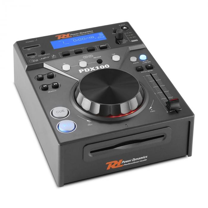 "Electronic Star Set DJ ""CD DJ Starter"" - Mixer 4 Canali 2 x Lettore CD 2 x Cavi"