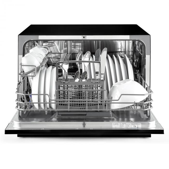Amazonia 6 zmywarka do naczyń A+ 1380W 6 nakryć stołowych 49 dB czarna