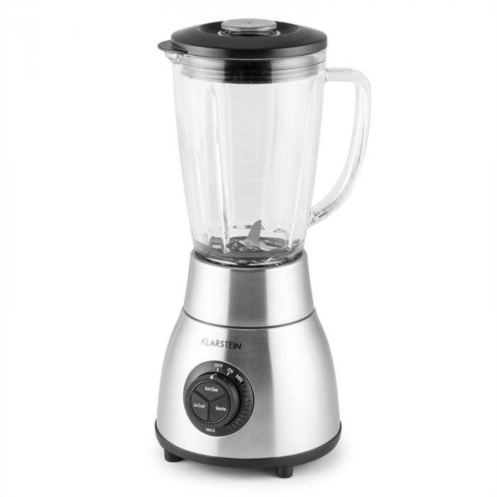 Herakles Steel Stand Blender 1.8l Glass Jug 1200W 1.6 HP Stainless Steel