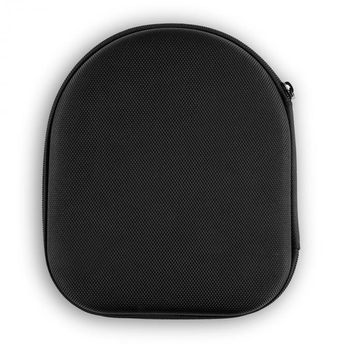 ANC-10 Auriculares con cancelación de ruido Estuche rígido Adaptador Negro
