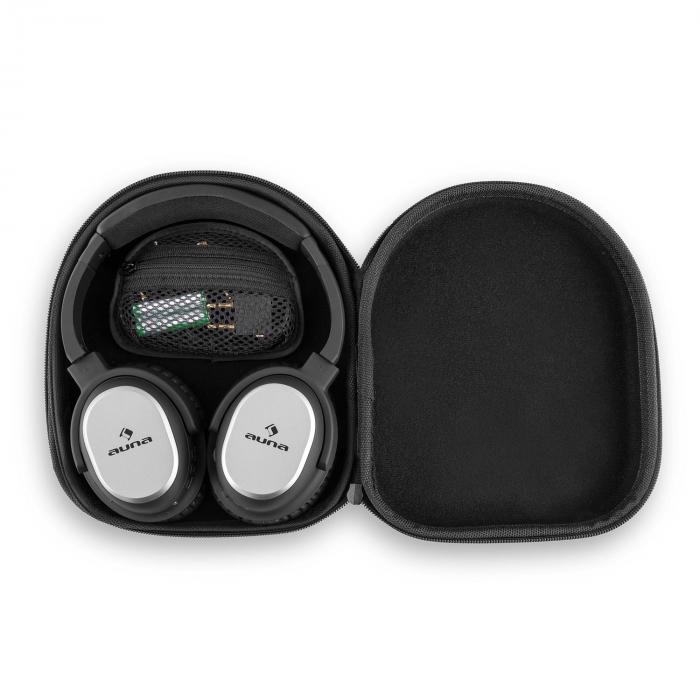 BNC-10 HeadphonesActive Noise Canceling Bluetooth 4.1 Hard Case Battery