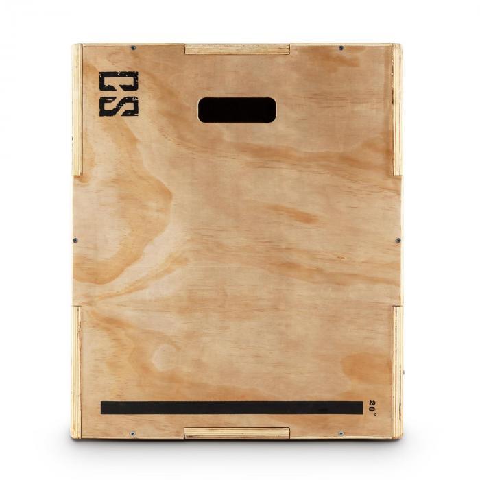 """Shineater Caja de Salto Pliométrica de 3 Alturas 20"""" 24"""" 30"""" M"""