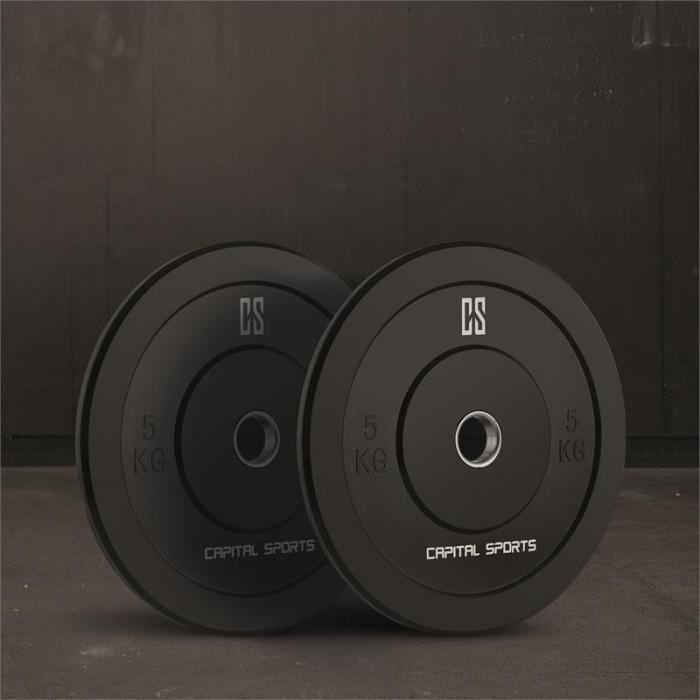 Nipton Mens set II Olympic Bar gewichten 3 paar 5, 10 & 20 kg