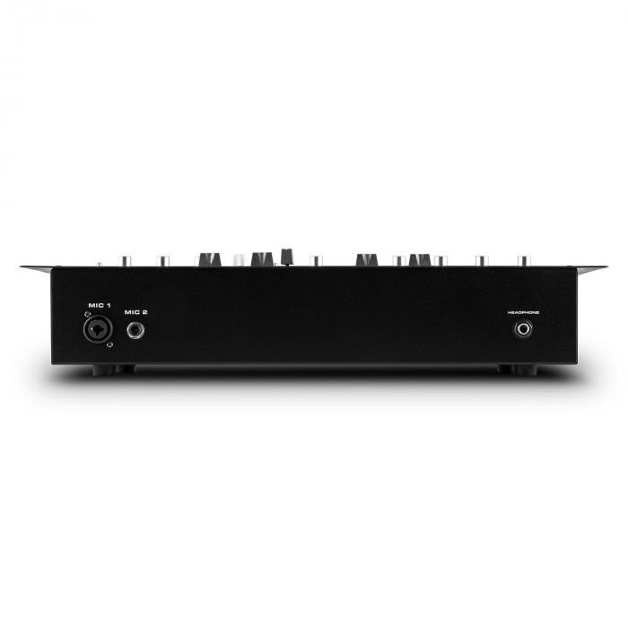 DJ405USB-BK 4-kanavainen DJ-miksauspöytä sis. 1-kanavaisen VHF-radiomikrofonisetin