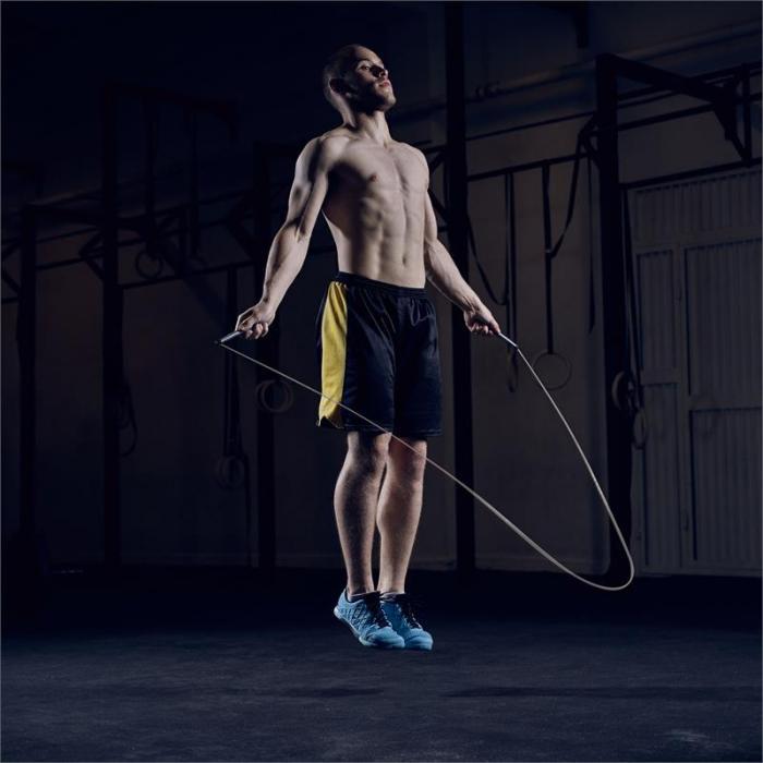 Exerci Corda per Saltare 2,75 m Nero