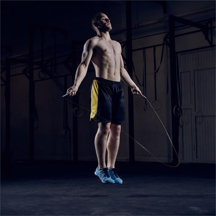 Exerci Pack Corda per Saltare con Cavo Aggiuntivo 2,75 m Nero